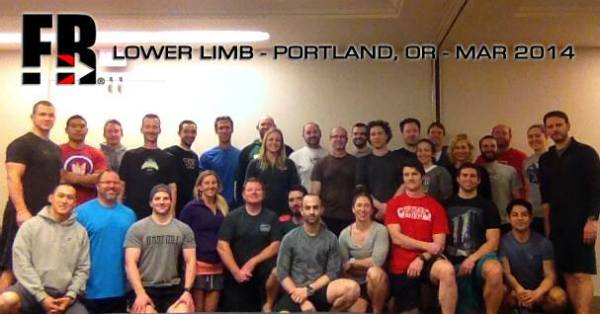 Newly certified FR® Lower Limb practitioners